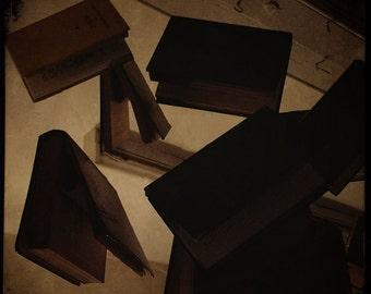 Books of spells 8x8 art photo, floating, surreal, magic