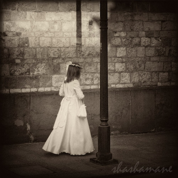 She moves among the shadows Gothic 8x8 spooky photo art print