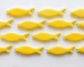 Custom order-Ceramic mosaic tiles- Handmade ceramic fish-Backsplash
