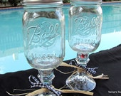 2 Redneck Wine Glasses - set of 2