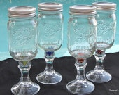 6 Redneck Wine Glasses, Redneck Wine Glass