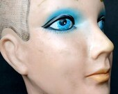 Baby got blue eyes... Mannequin head. ON SALE