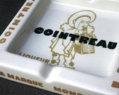 Cointreau for connoisseurs. Vintage branded French tray. RESERVED
