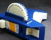 DYMO blue. Vintage embossing tool.