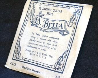 La Bella. String guitar.