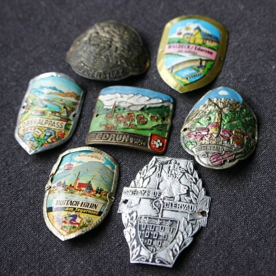 Souvenirs from old Europe