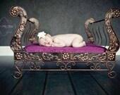 Newborn/ Toddler Phorography Sleigh Bed