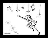 Cadouxdle Catch a Falling Star 8x10 print out