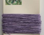 10 yards Lavender 4 ply Irish Waxed Linen Thread