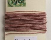 5 yrds Victorian Rose 4 ply Irish Waxed Linen Thread