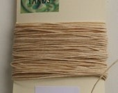 10 yrds Natural 4 ply Irish Waxed Linen Thread