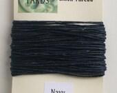 10 yrds Navy Irish Waxed Linen Thread