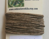 5 Yards 4 Ply Un-Dyed Natural Irish Waxed Linen Thread
