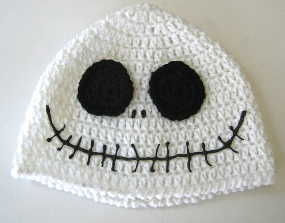 Jack Skellington Hat, Jack the Pumpkin King Hat, Nightmare Before Christmas Hat