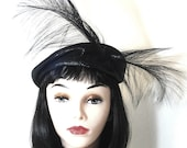 Vintage 40s Hat / 1940s Hat / Designer / Joseph Magnin