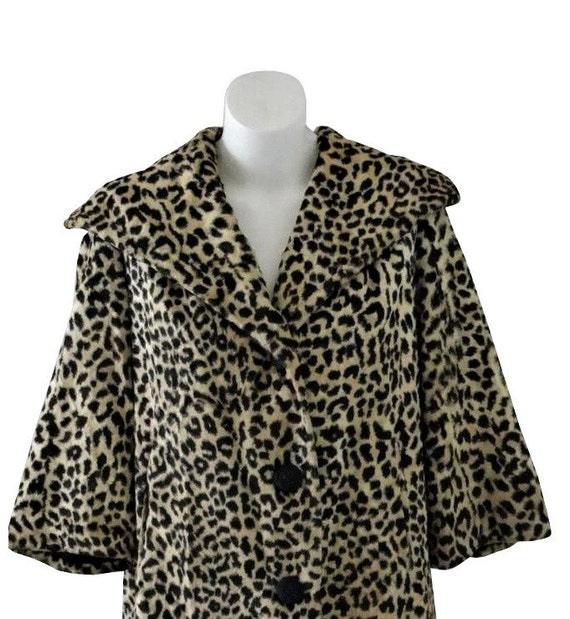 1950s MOVIESTAR Leopard Coat