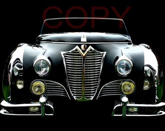 Vintage Classic 1948 Cadillac Saoutchik Series 62 photo