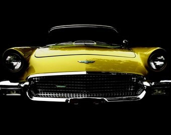 Vintage Classic 1957 Thunderbird photo
