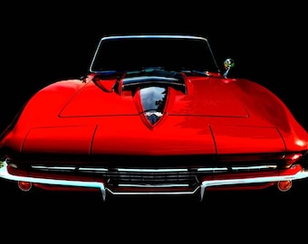 Vintage Classic 1967 Corvette Stingray photo