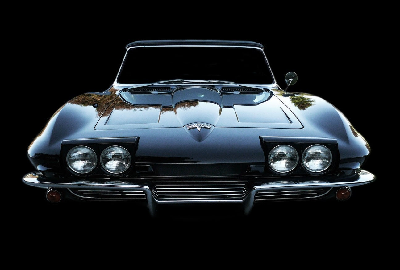 vintage classic 1964 corvette stingray photo by paulmcwainphoto. Black Bedroom Furniture Sets. Home Design Ideas