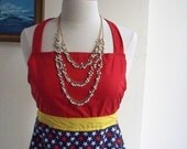 Wonder Woman-Inspired Pin-Up Apron Style 2