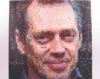Perler Portrait - Steve Buscemi