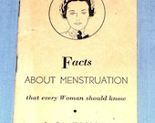 Vintage Woman Health Pamphlet Book - 16 Pages, with Info and Advertisements 1936 Feminist Antique