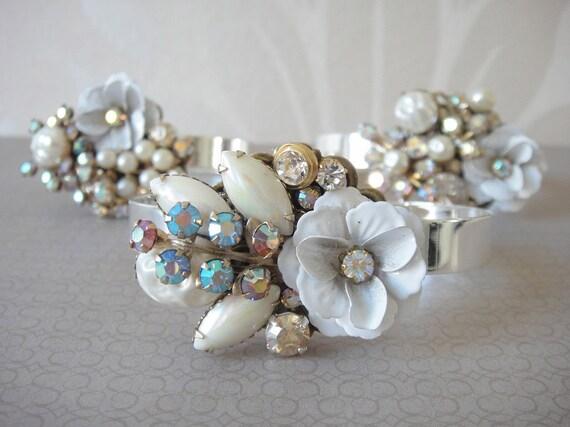 Custom listing for Melissa - 1 bridal bracelet
