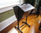 Vintage Wood Sewing Box Stand