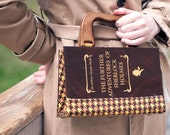 Sherlock Holmes Book Purse RESERVED FOR ALLENANDPATTY