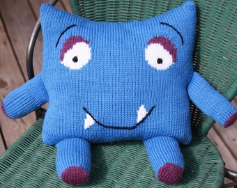 Happy Sleepy Monster Knit Pattern (PDF)