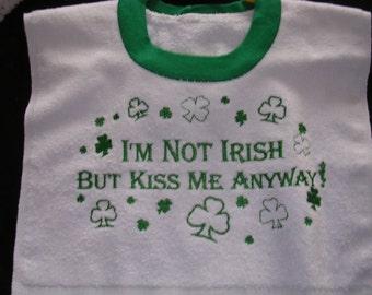 Boys Irish Bib