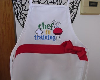 Childs Chef in Training Apron