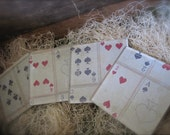 Petite Decor Playing Card Coaster Set