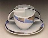 German Demitasse Cups by  Antje Bruggemann from Rosenthal Studio - Linie Kunstlertasse