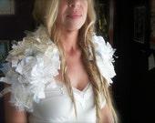 Bridal Shrug CUSTOM- Tattered Rose