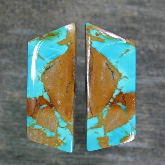 Turquoise cabochon set,  A-152