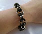 Black & White Stretchy Bracelet