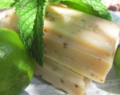 UGLY-Be-Gone Goat's  Milk  Soap LEMON-MINT Complexion Skin Soap All Natural Soap Cold Process Natural Soap Handmade Soap Bar