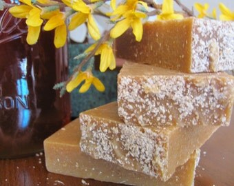 BABY OATS & HONEY Soap Goat Milk Soap. Fragrance-Free Soap. All Natural Soap. Unscented Soap. Organic Soap. Cold Process Natural Soap