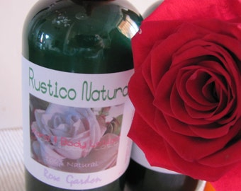 ROSE Vegan Body Lotion. Natural Body Lotion. Handmade Natural. Organic Body Lotion. Scented Body Lotion.