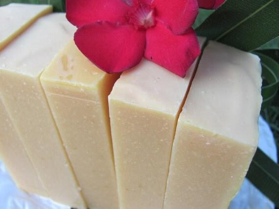 CREAMY ALMOND MILK Soap Natural Soap Goat Milk Soap Handmade Soap Cold Process Soap