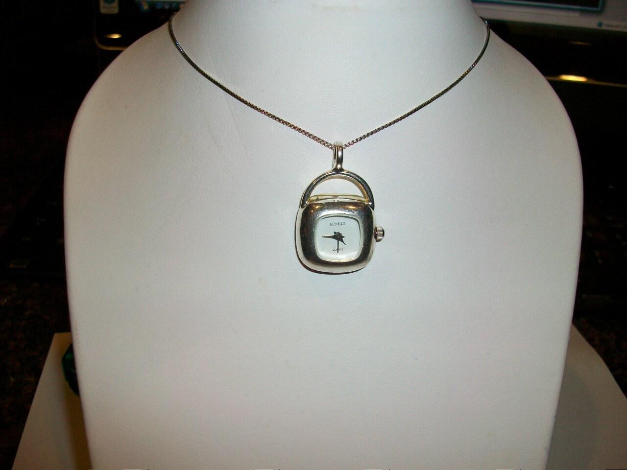 Gianello 925 Sterling Silver Ladies Women's Wristwatch ...