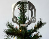 RESERVED - Carbon Atom Tree Topper