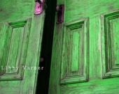 Doors to the Emerald City 6 x 9 Photograph - Free Shipping in US -