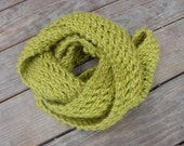 Moss Green Infinity Scarf/Cowl
