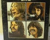 The Beatles Let it Be 1970 LP