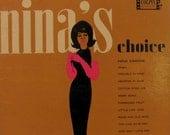 Nina Simone Nina's Choice 1963 LP