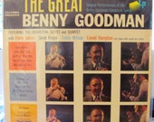 The Great Benny Goodman 1956 LP