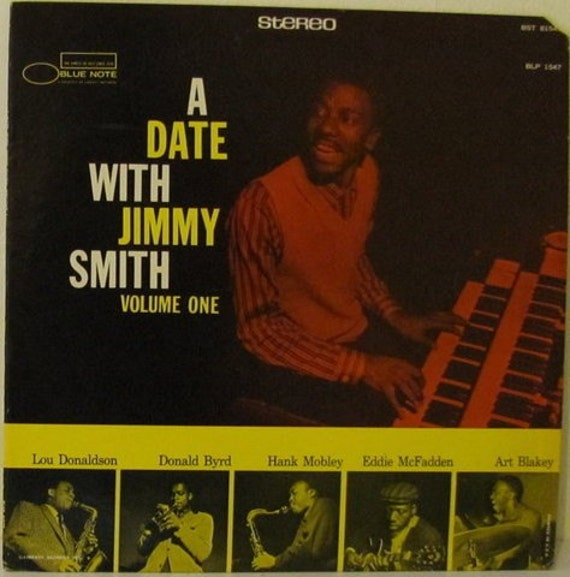 Jimmy Smith A Date with Jimmy Smith Blue Note Jazz LP